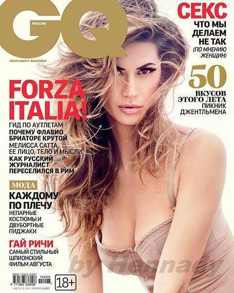 журнал GQ № 8 (август 2015)