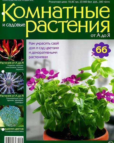 Комнатные и садовые растения от А до Я №66 2015 PDF