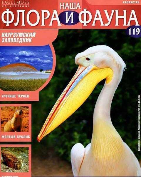 Журнал Наша флора и фауна № 119 (2015) читать PDF