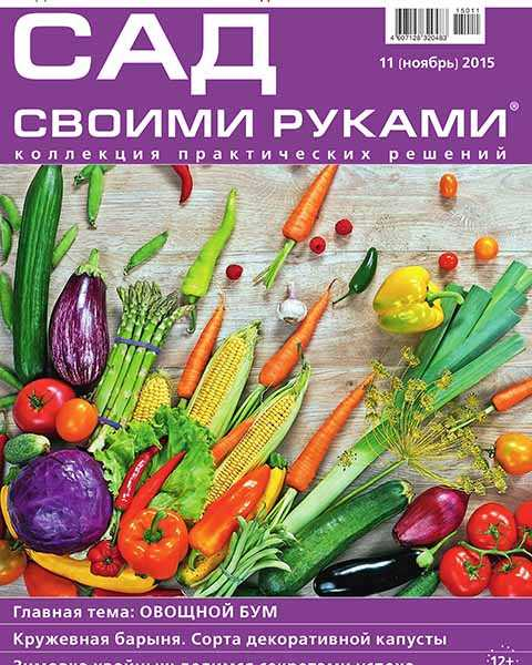 Сад своими руками №11 ноябрь 2015, морковь, капуста