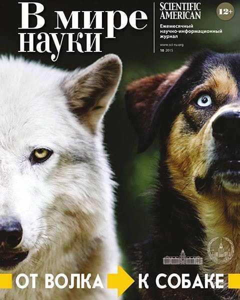В мире науки 10 октябрь 2015, волк, собака