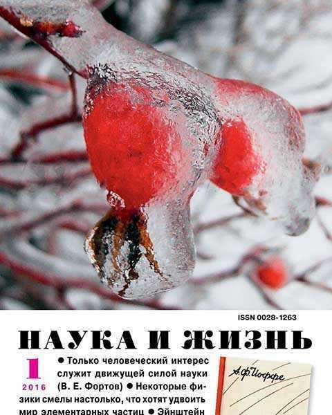 Наука и жизнь №1 январь 2016