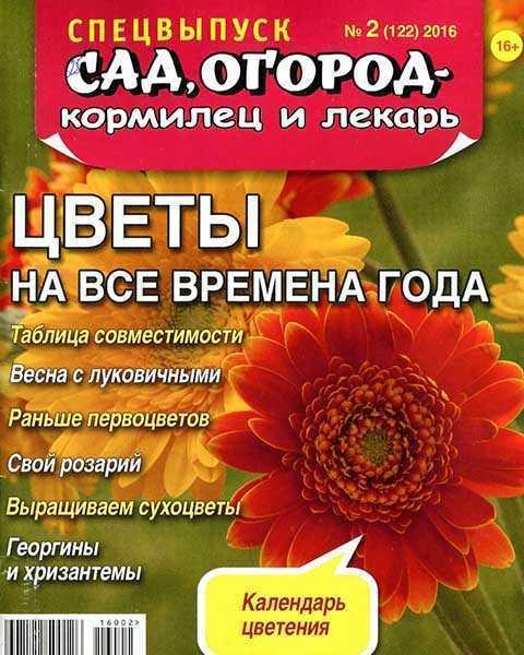 Сад огород кормилец и лекарь №2 СВ 2016