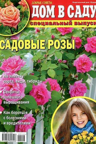 Журнал Дом в саду №1 Садовые розы 2016 СВ читать