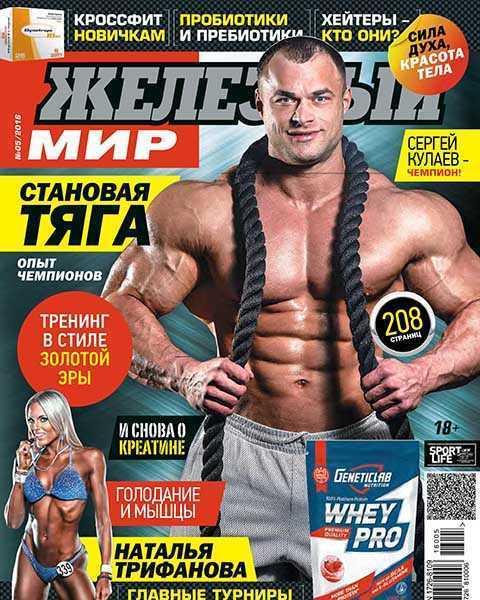 Журнал Железный мир №5 май 2016 PDF