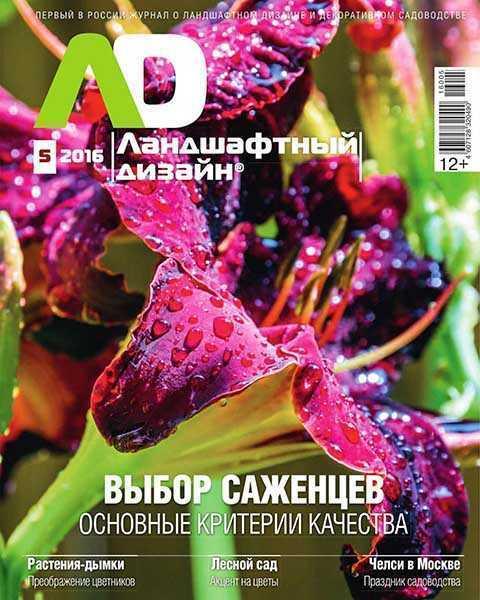 Ландшафтный дизайн №5 (2016)