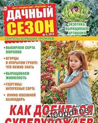 Обложка Дачный сезон №4 (2019)