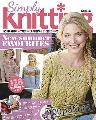 Magazine Simply Knitting №186 (2019)
