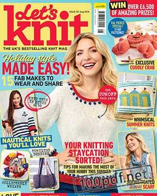 Magazine Let's Knit №147 (2019)