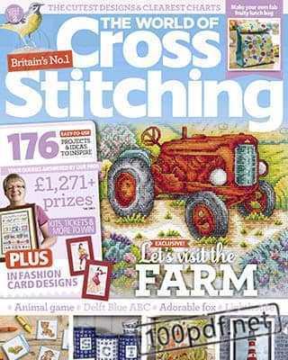 Magazine The World of Cross Stitching №284 (2019)