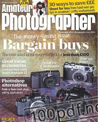 Magazine Amateur Photographer 24 august 2019
