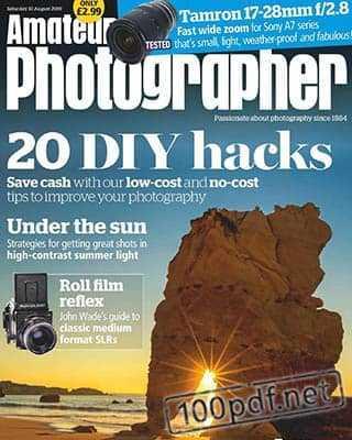 Magazine Amateur Photographer 10 Aug 2019