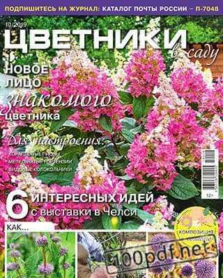 Обложка Цветники в саду №10 (2019)