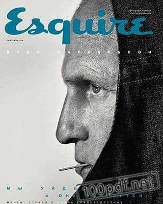 Вуди Харрельсон Esquire №9 2019