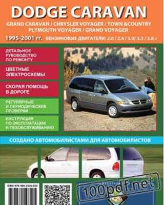Книга Руководство по ремонту Chrysler Voyager