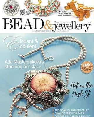 Обложка Bead and Jewellery 103 2020