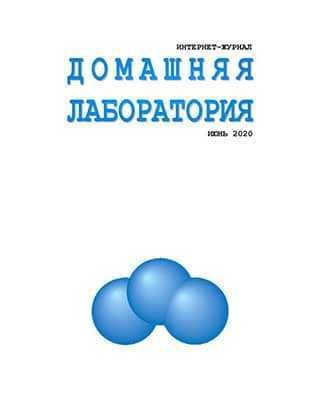 Обложка Домашняя лаборатория 6 2020