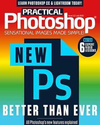 Обложка Practical Photoshop July 2020