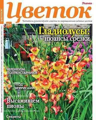 Обложка Цветок 15 2020