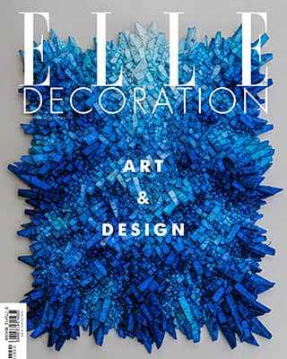 Обложка Elle Decoration 9 2020