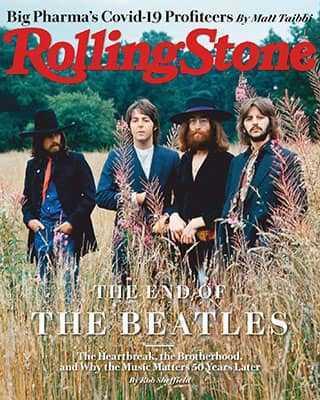 Обложка Rolling Stone 1343 2020