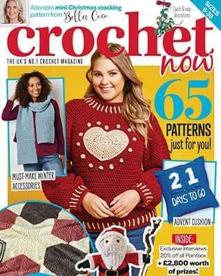 Обложка Crochet Now 61 2020