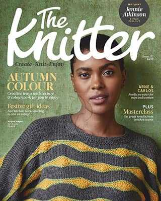 Обложка The Knitter 157 2020