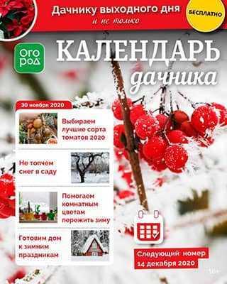 Обложка Календарь дачника 23 2020