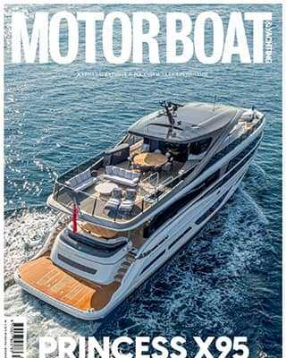 Обложка Motorboat and yachting 1 2021