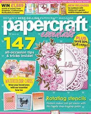 Обложка Papercraft Essentials 194 2021