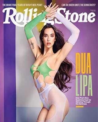 Обложка Rolling Stone 1348 2021