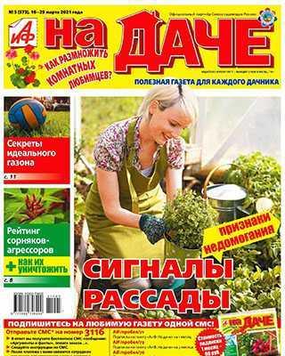 Журнал АиФ На даче №5 за 2021 год