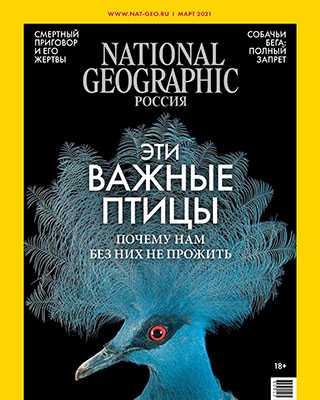 Обложка National Geographic 3 2021