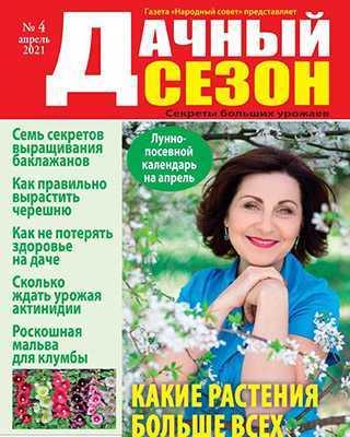 Журнал Дачный сезон №4 за 2021 год